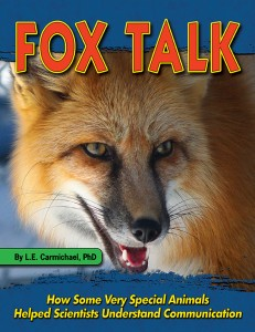 Fox Talk book cover, L. E. Carmichael, L. E. Carmichael author