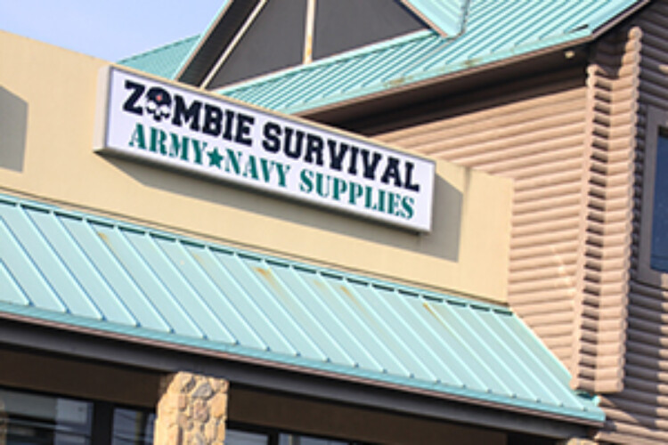 Zombie survival Army and Navy