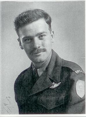 Grandpa in his PPCLI uniform - note the paratrouper wings!