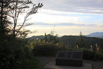 Kap'yong Memorial near Ucluelet, BC