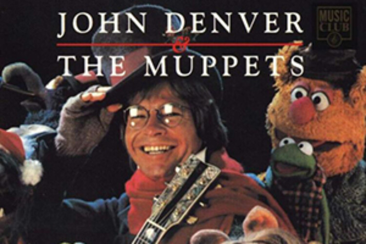 John Denver and the Muppets album cover