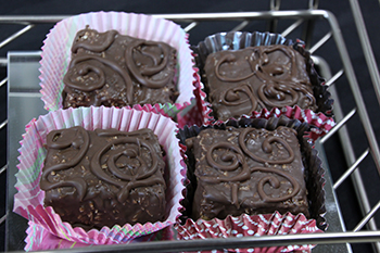 Could YOU resist these delectable homemade marshmallows?