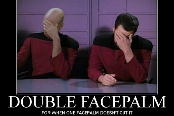 double facepalm meme