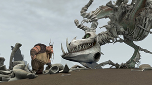 How to Train Your Dragon... even if it's made of bones