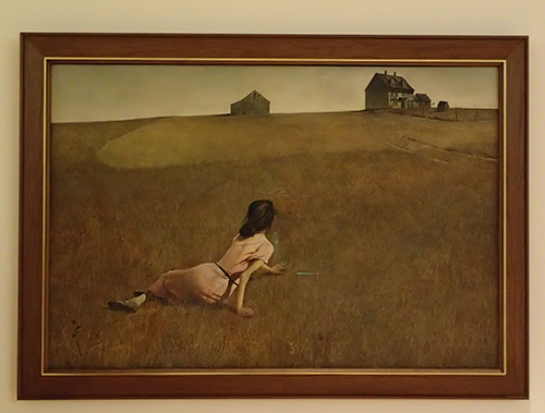 Christina's World, by Andrew Wyeth (MoMA)