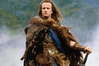 the dude from Highlander