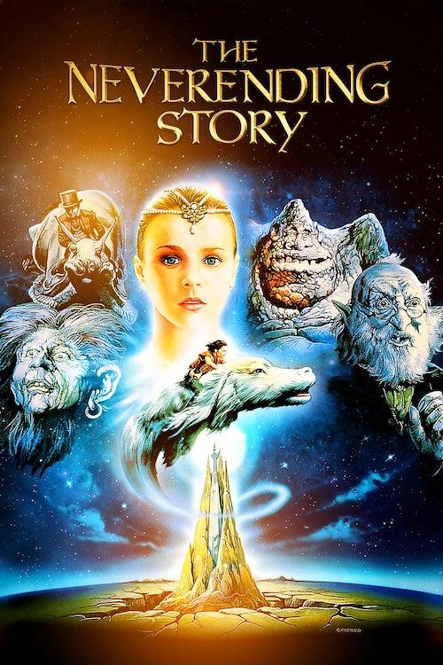 neverending story movie poster