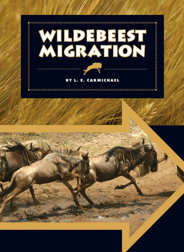 Wildebeest Migration by L.E. Carmichael