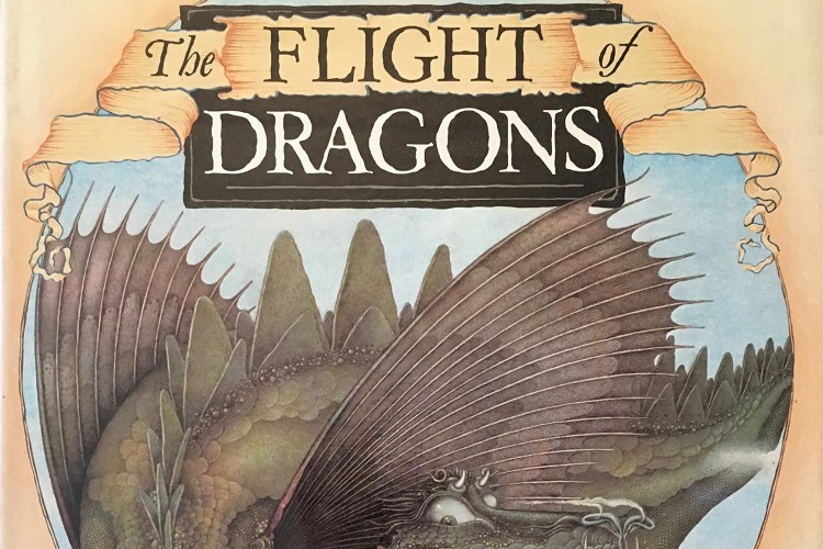 Flight of the Dragons by Peter Dickson book cover