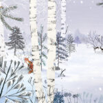 The Boreal Forest, illustration by Josée Bisaillon