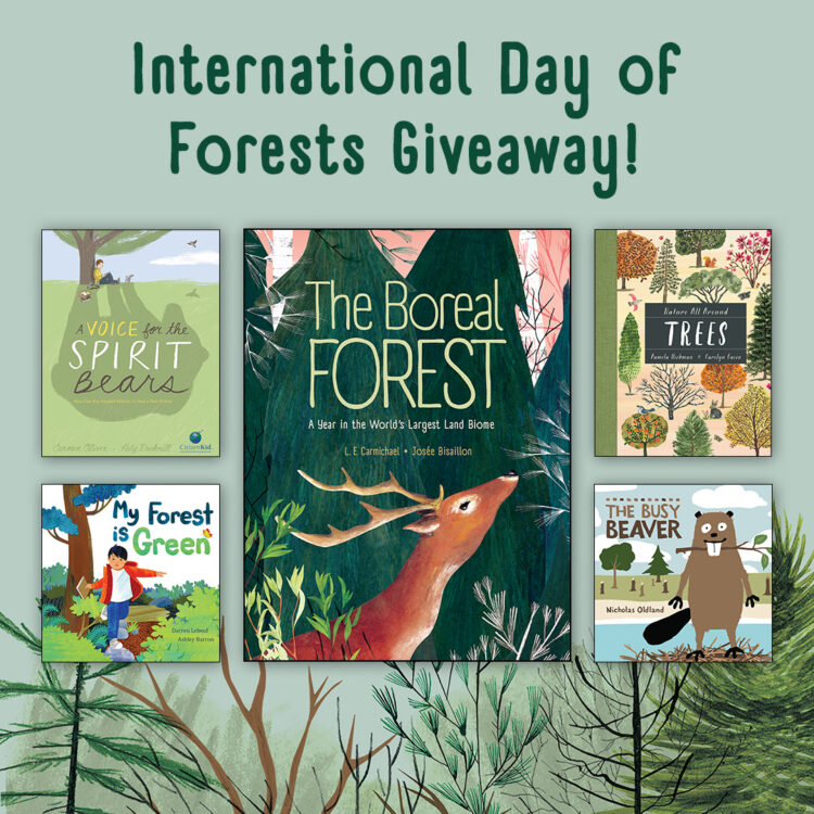 International Day of Forests Giveaway announcement