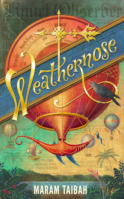 Cover of Weathernose by Maram Taibah