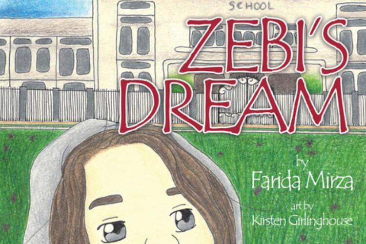 book cover of Zebi's Dream by Farida Mirza