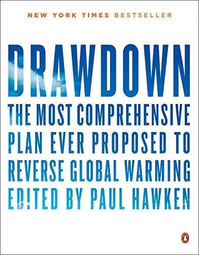 Cover of Drawdown, edited by Paul Hawken