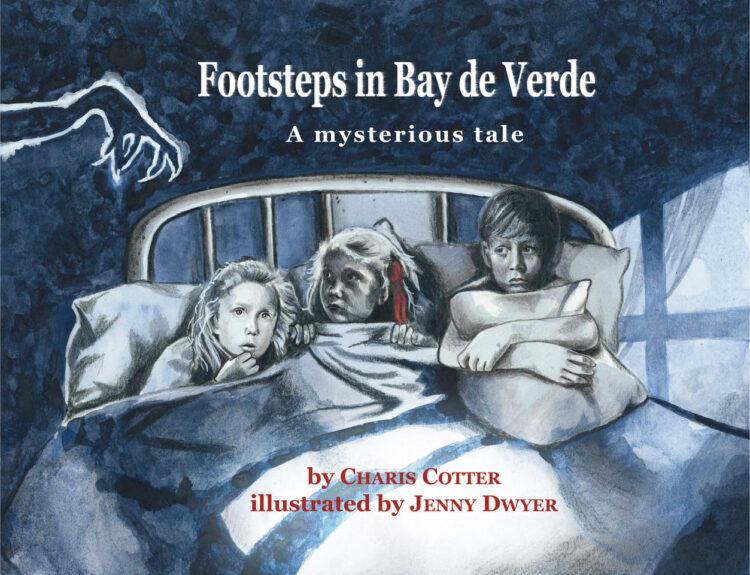 Footsteps in Bay de Verde by Charis Cotter
