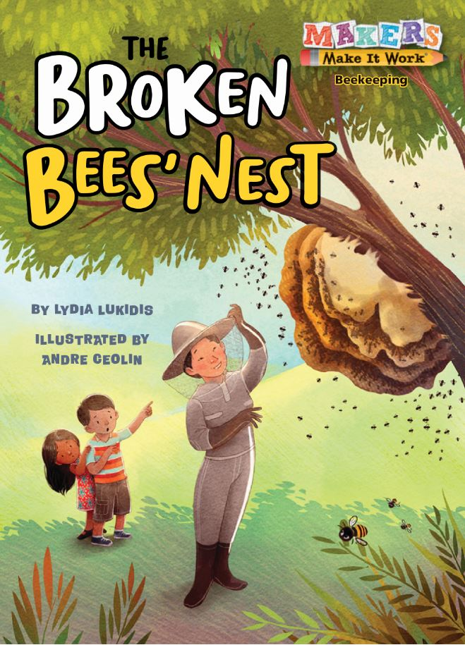 The Broken Bees Nest by Lydia Lukidis