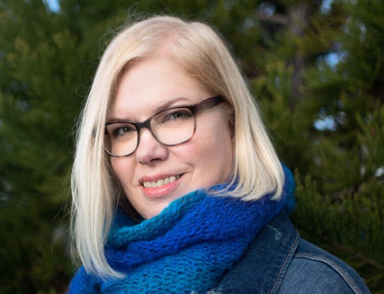 Jacqueline Carmichael, author of Heard Amid the Guns