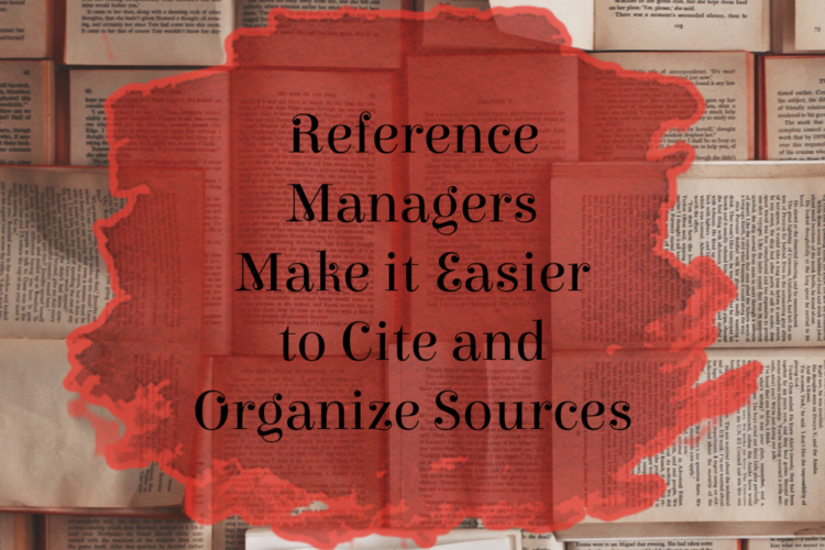 Benefits of reference managers