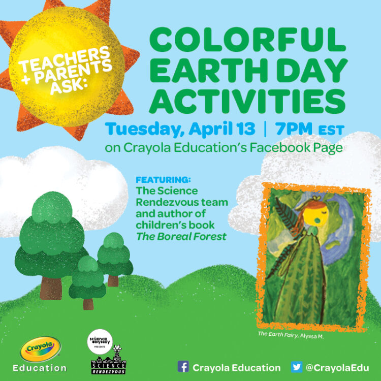 Crayola Education - Earth Day Event