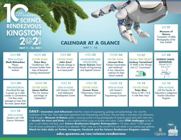 Science Rendezvous Kingston Schedule