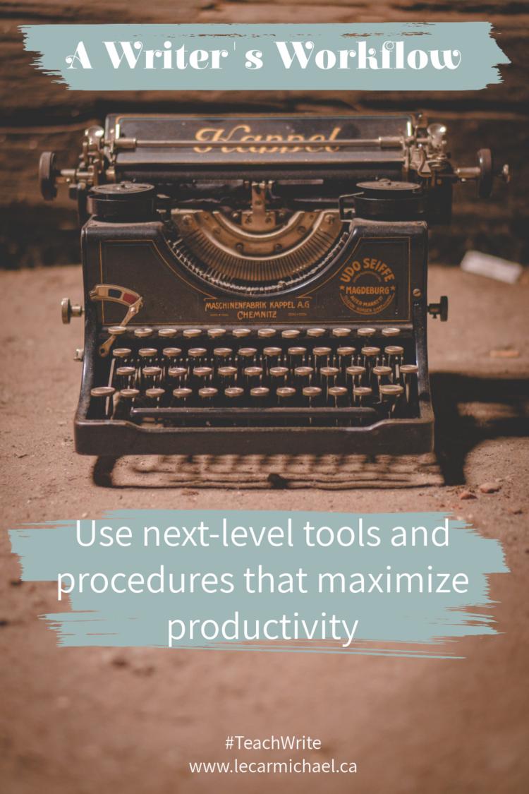 Developing an efficient workflow