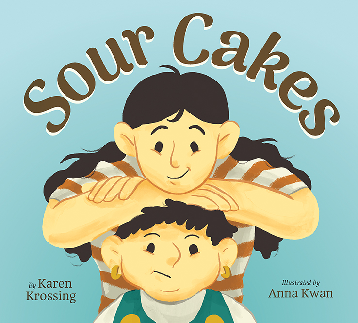 cover of Sour Cakes by Karen Krossing